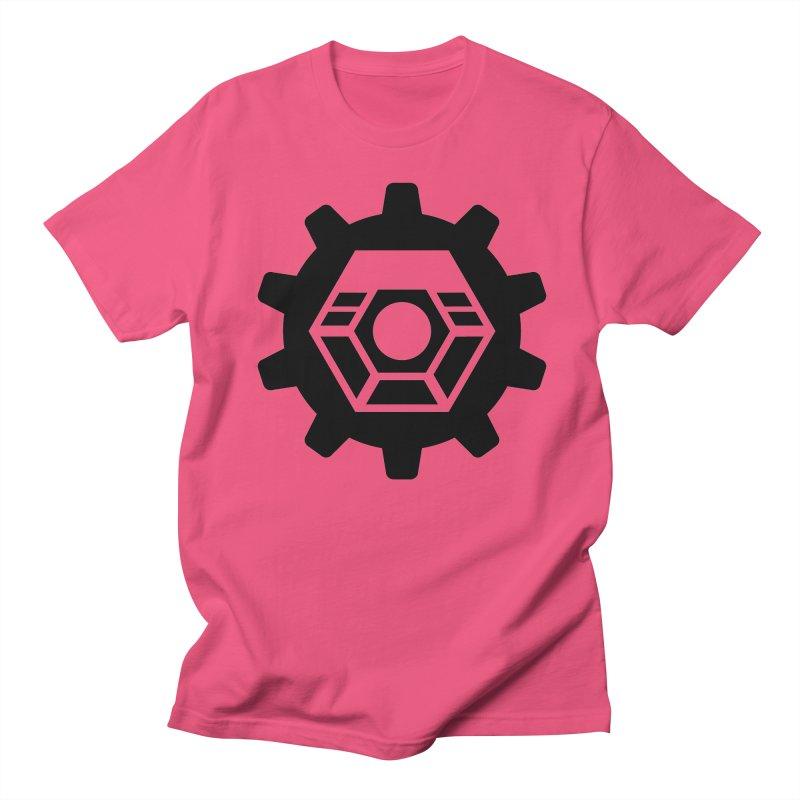 Tyler McNair Art & Design Logo (black) Men's Regular T-Shirt by TyDyed Art