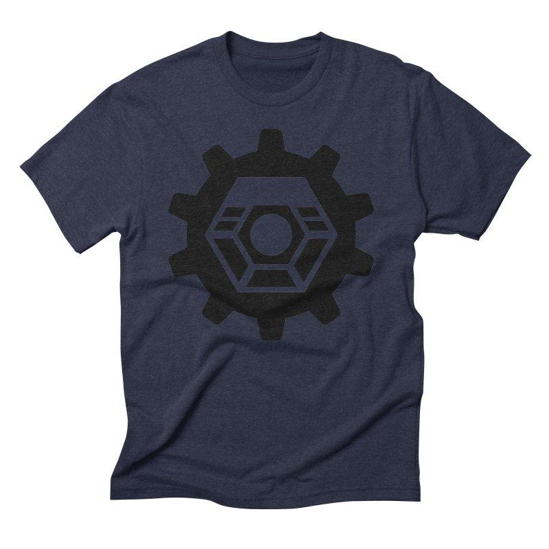 Tyler McNair Art & Design Logo (black) Men's Triblend T-Shirt by TyDyed Art