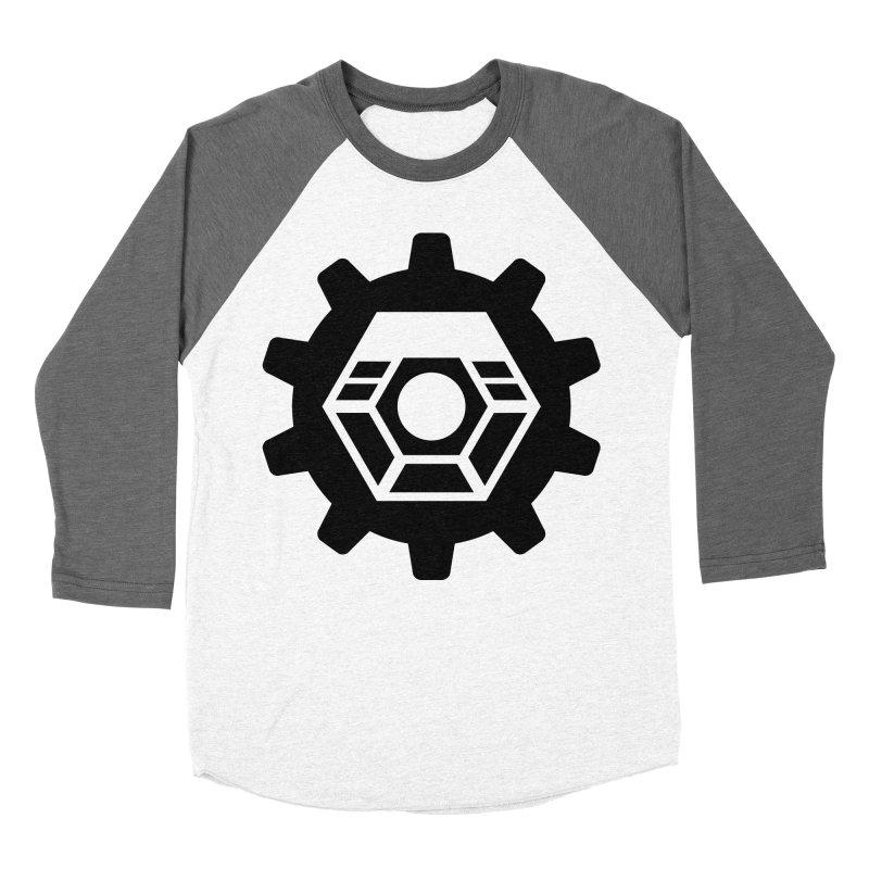Tyler McNair Art & Design Logo (black) Men's Baseball Triblend Longsleeve T-Shirt by TyDyed Art