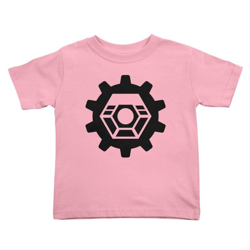 Tyler McNair Art & Design Logo (black) Kids Toddler T-Shirt by TyDyed Art