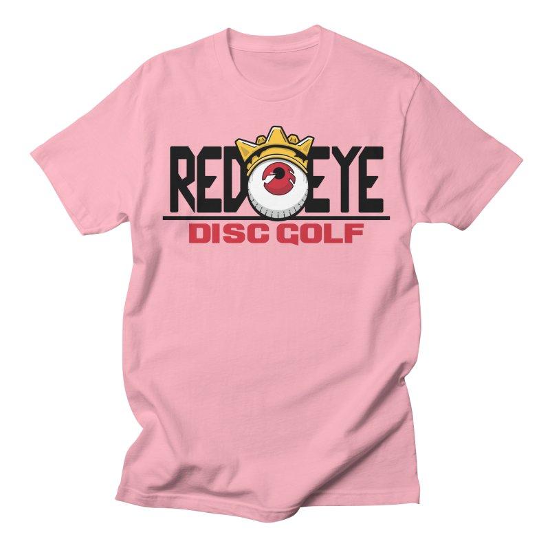 Red Eye Disc Golf Logo Women's Regular Unisex T-Shirt by TyDyed Art