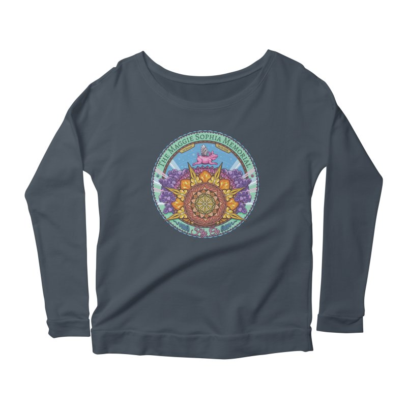 The Maggie Sophia Memorial 2018 Women's Scoop Neck Longsleeve T-Shirt by TyDyed Art