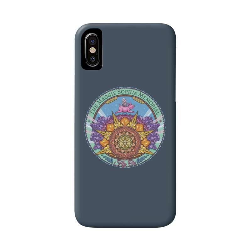 The Maggie Sophia Memorial 2018 (Grey Background) Accessories Phone Case by TyDyed Art