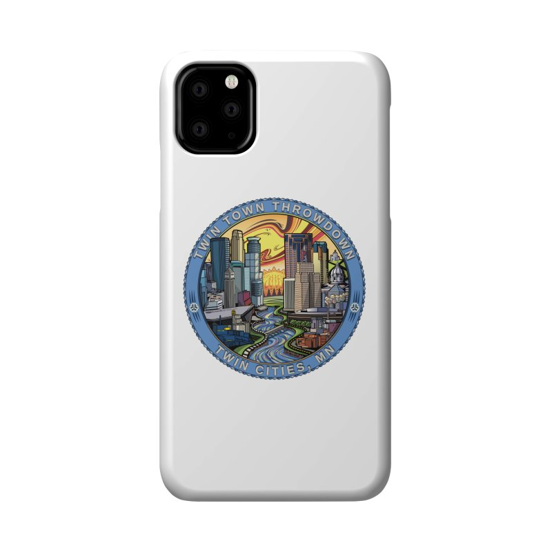 Twin Town Throwdown 2018 Accessories Phone Case by TyDyed Art