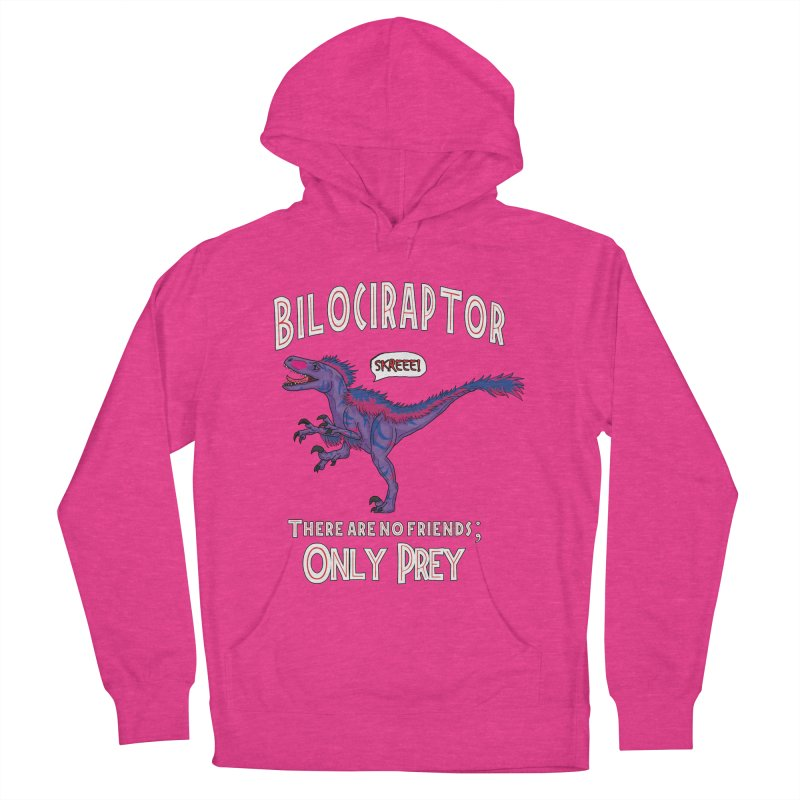 Bilociraptor - Bisexual Pride Men's Pullover Hoody by TygerwolfeDesigns's Artist Shop