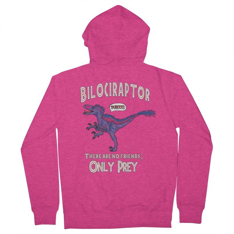 Bilociraptor - Bisexual Pride Women's Zip-Up Hoody by TygerwolfeDesigns's Artist Shop