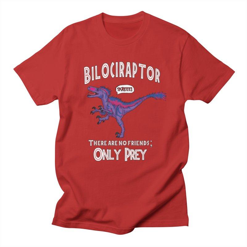 Bilociraptor - Bisexual Pride Men's T-shirt by TygerwolfeDesigns's Artist Shop
