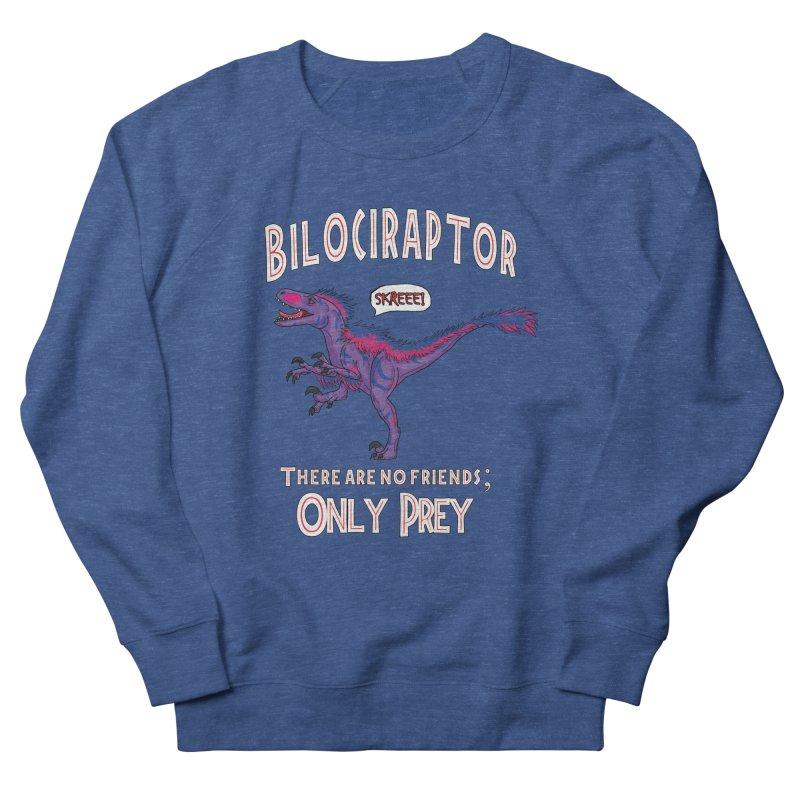 Bilociraptor - Bisexual Pride Women's French Terry Sweatshirt by TygerwolfeDesigns's Artist Shop
