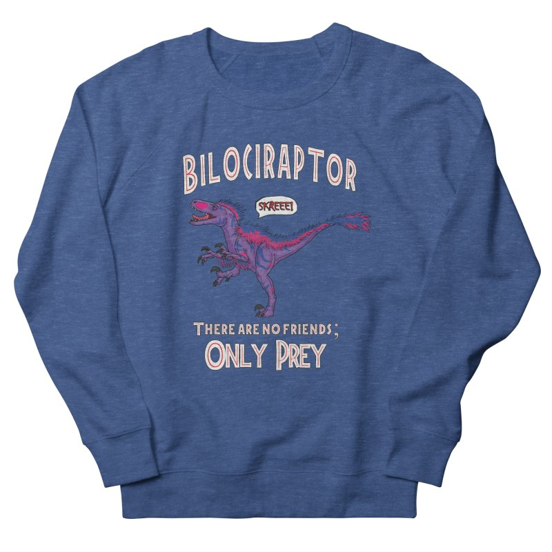 Bilociraptor - Bisexual Pride Men's Sweatshirt by TygerwolfeDesigns's Artist Shop