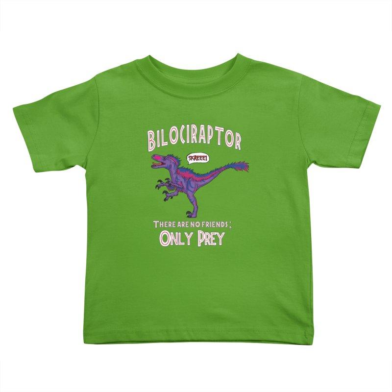 Bilociraptor - Bisexual Pride Kids Toddler T-Shirt by TygerwolfeDesigns's Artist Shop
