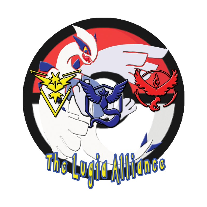 Pokemon Go - The Lugia Alliance Men's T-Shirt by TygerwolfeDesigns's Artist Shop