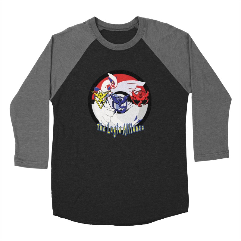 Pokemon Go - The Lugia Alliance Women's Baseball Triblend Longsleeve T-Shirt by TygerwolfeDesigns's Artist Shop