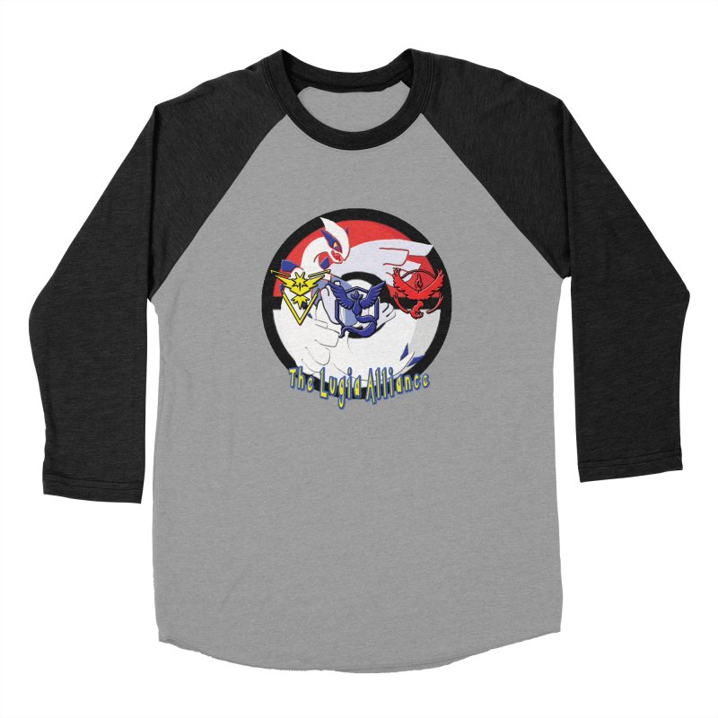 Pokemon Go - The Lugia Alliance Men's Baseball Triblend Longsleeve T-Shirt by TygerwolfeDesigns's Artist Shop