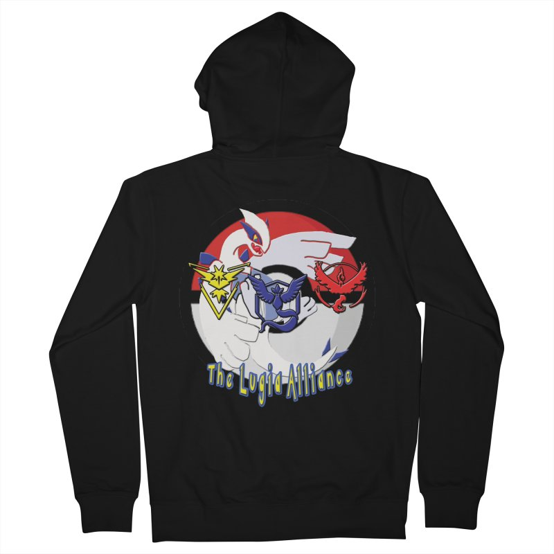 Pokemon Go - The Lugia Alliance Men's Zip-Up Hoody by TygerwolfeDesigns's Artist Shop