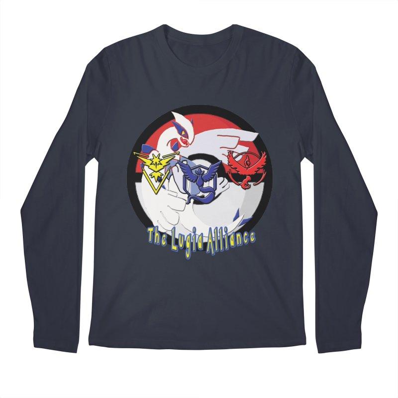 Pokemon Go - The Lugia Alliance Men's Regular Longsleeve T-Shirt by TygerwolfeDesigns's Artist Shop