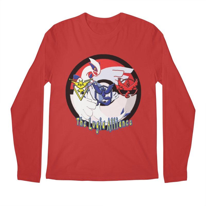 Pokemon Go - The Lugia Alliance Men's Longsleeve T-Shirt by TygerwolfeDesigns's Artist Shop