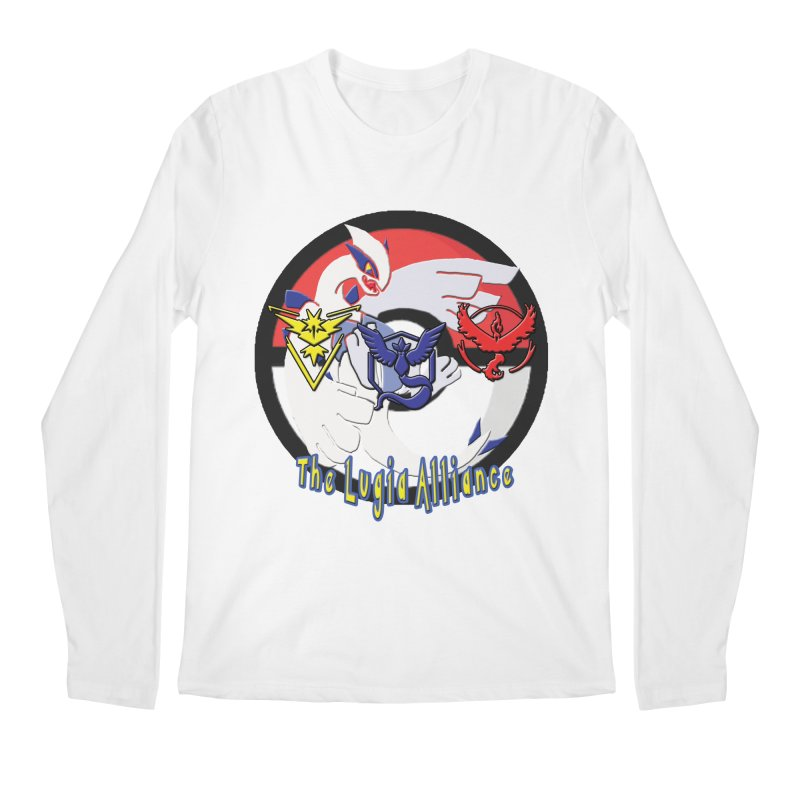 Pokemon Go - The Lugia Alliance Men's Regular Longsleeve T-Shirt by TygerwolfeDesigns's Artist Shop