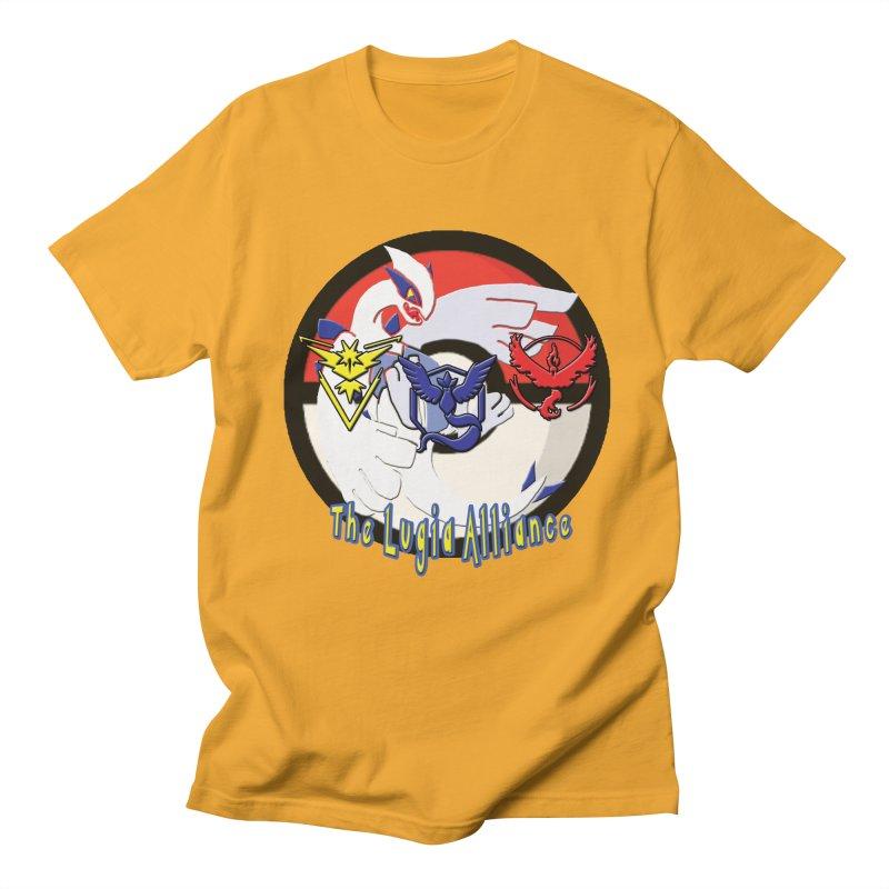 Pokemon Go - The Lugia Alliance Men's T-Shirt by TygerwolfeDesigns's Artist Shop