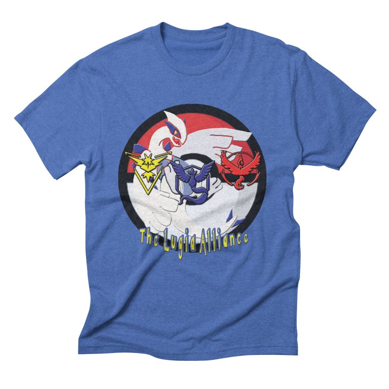 Pokemon Go - The Lugia Alliance Men's Triblend T-Shirt by TygerwolfeDesigns's Artist Shop