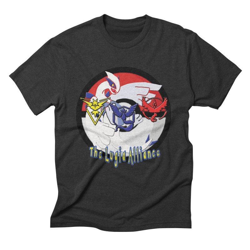 Pokemon Go - The Lugia Alliance Men's Triblend T-Shirt by TygerwolfeDesigns's Artist Shop