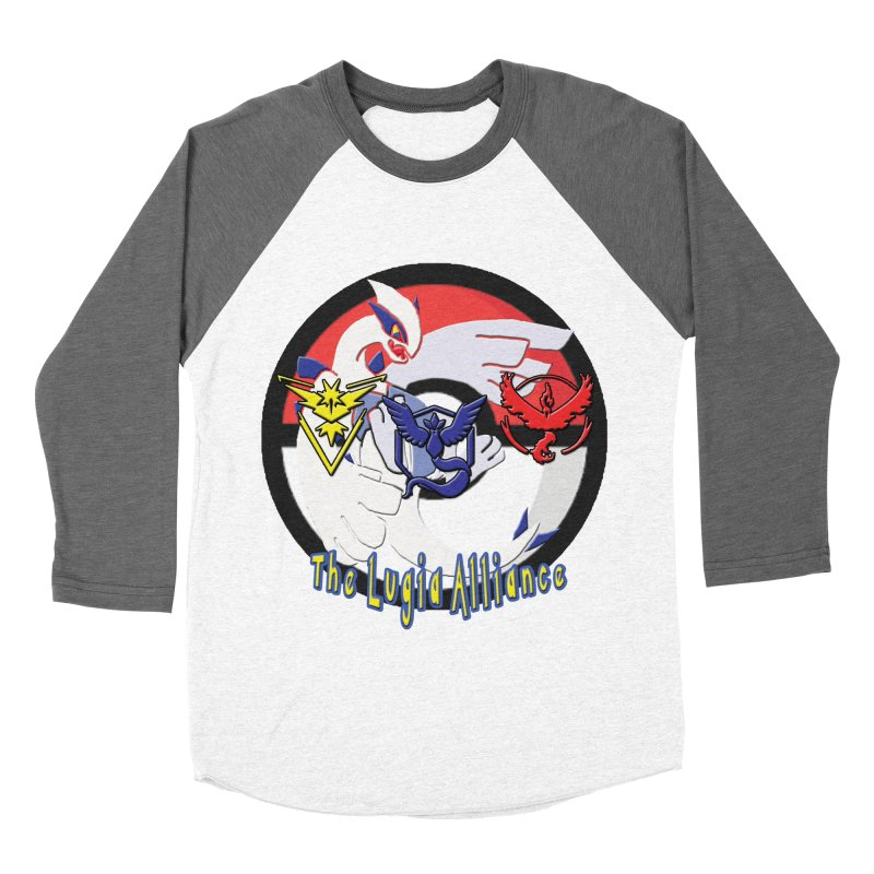 Pokemon Go - The Lugia Alliance Women's Baseball Triblend T-Shirt by TygerwolfeDesigns's Artist Shop