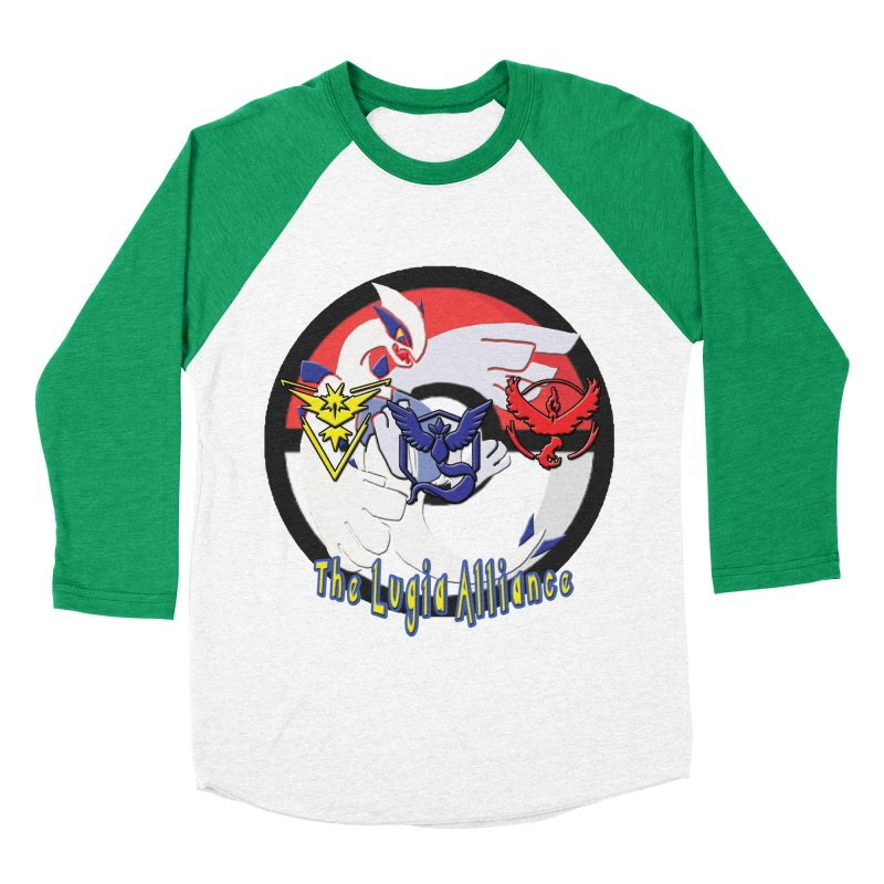 Pokemon Go - The Lugia Alliance Men's Baseball Triblend T-Shirt by TygerwolfeDesigns's Artist Shop