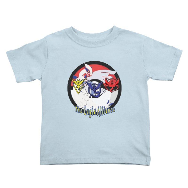 Pokemon Go - The Lugia Alliance Kids Toddler T-Shirt by TygerwolfeDesigns's Artist Shop