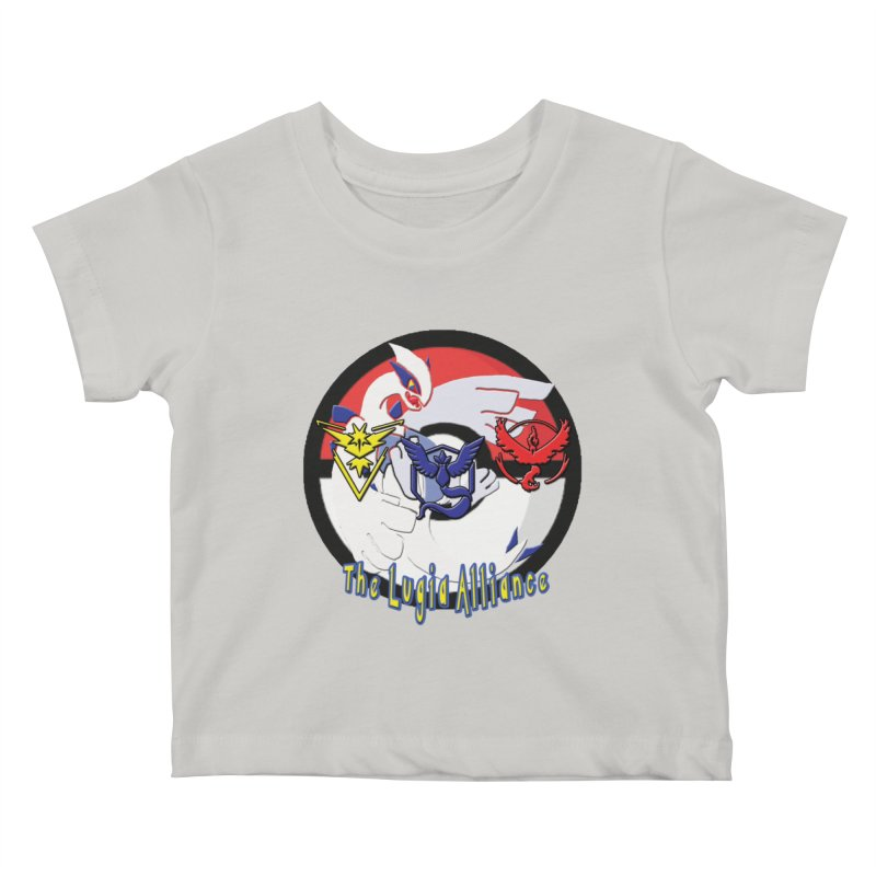 Pokemon Go - The Lugia Alliance Kids Baby T-Shirt by TygerwolfeDesigns's Artist Shop