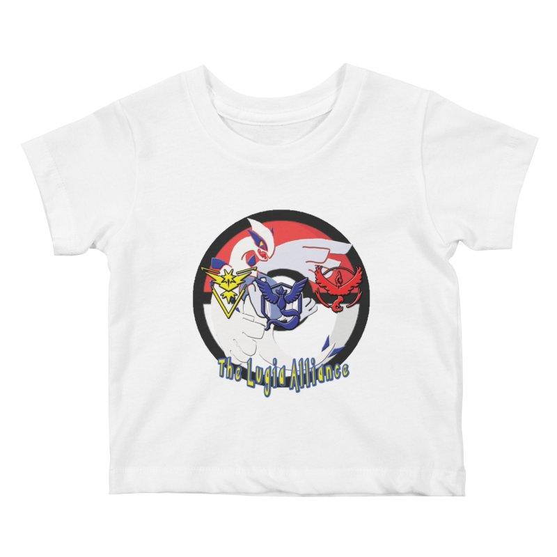 Pokemon Go - The Lugia Alliance Kids Baby T-Shirt by TygerwolfeDesigns's Artist Shop
