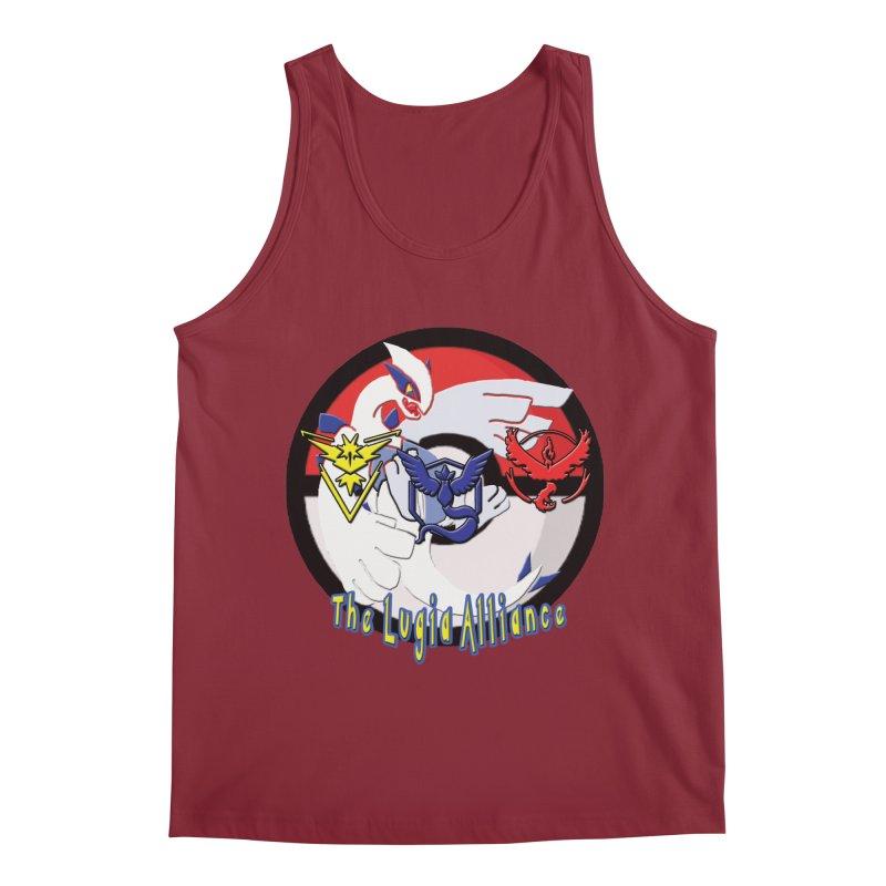 Pokemon Go - The Lugia Alliance Men's Regular Tank by TygerwolfeDesigns's Artist Shop