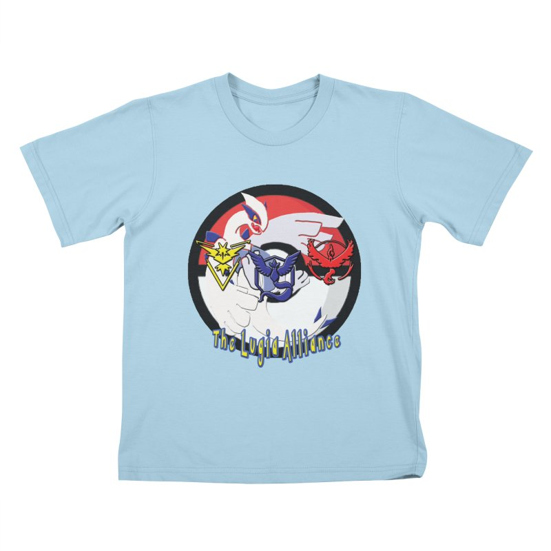 Pokemon Go - The Lugia Alliance Kids T-shirt by TygerwolfeDesigns's Artist Shop