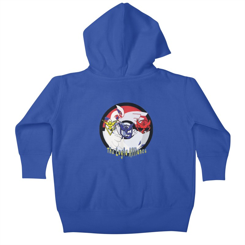Pokemon Go - The Lugia Alliance Kids Baby Zip-Up Hoody by TygerwolfeDesigns's Artist Shop
