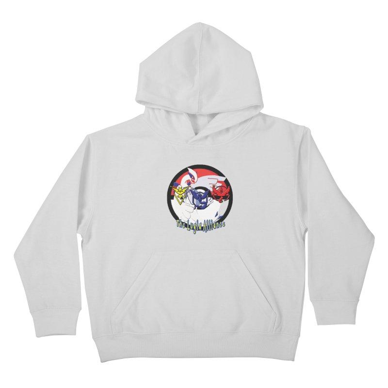 Pokemon Go - The Lugia Alliance Kids Pullover Hoody by TygerwolfeDesigns's Artist Shop