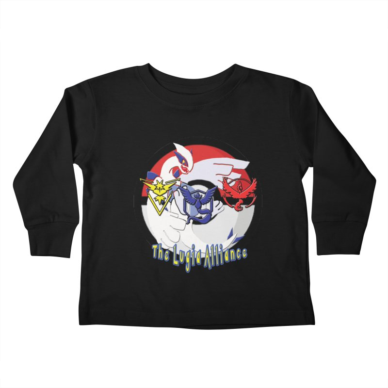 Pokemon Go - The Lugia Alliance Kids Toddler Longsleeve T-Shirt by TygerwolfeDesigns's Artist Shop