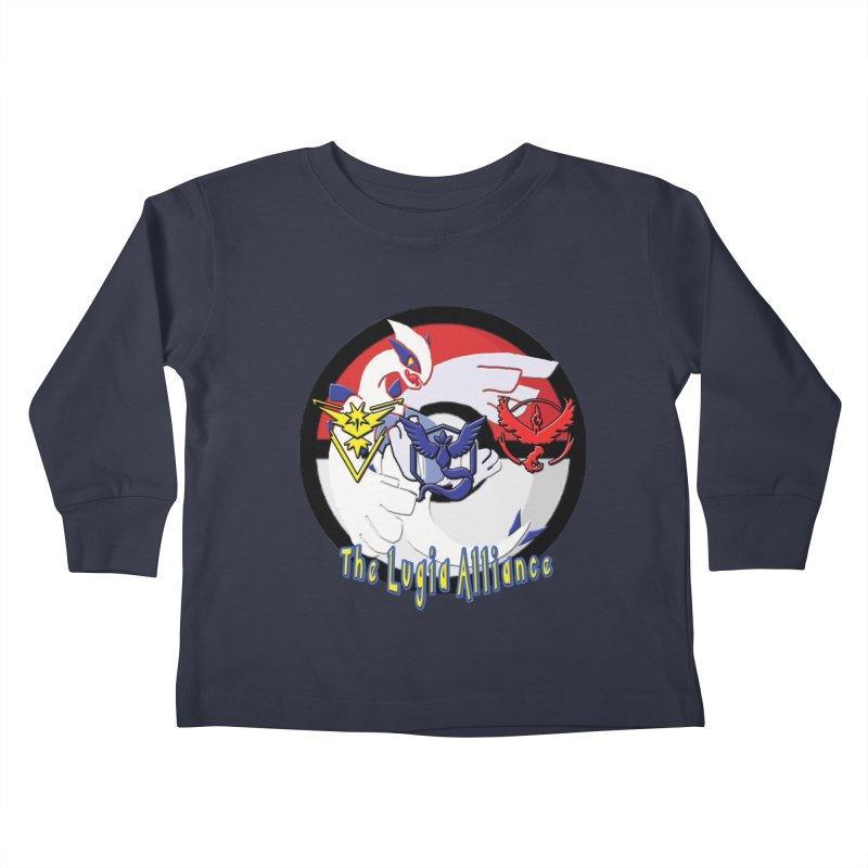 Pokemon Go - The Lugia Alliance Kids Toddler Longsleeve T-Shirt by TygerwolfeDesigns's Artist Shop