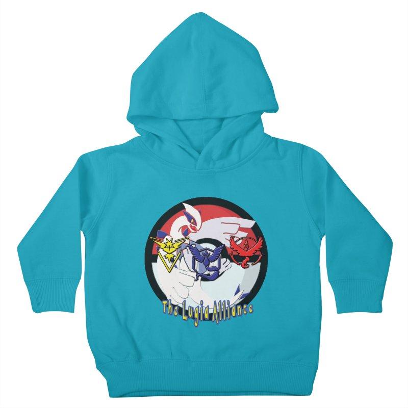 Pokemon Go - The Lugia Alliance Kids Toddler Pullover Hoody by TygerwolfeDesigns's Artist Shop