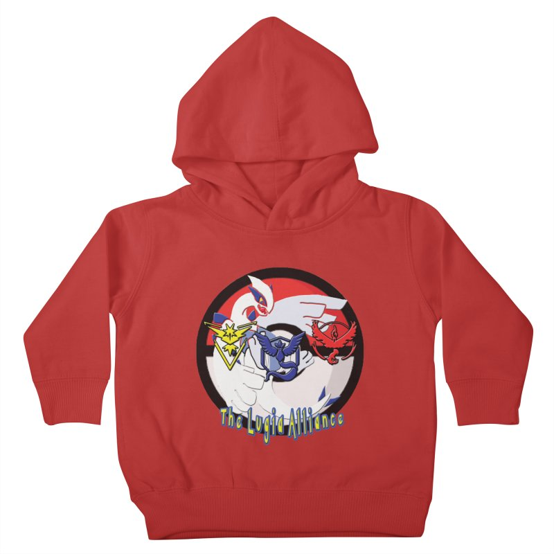 Pokemon Go - The Lugia Alliance Kids Toddler Pullover Hoody by TygerwolfeDesigns's Artist Shop