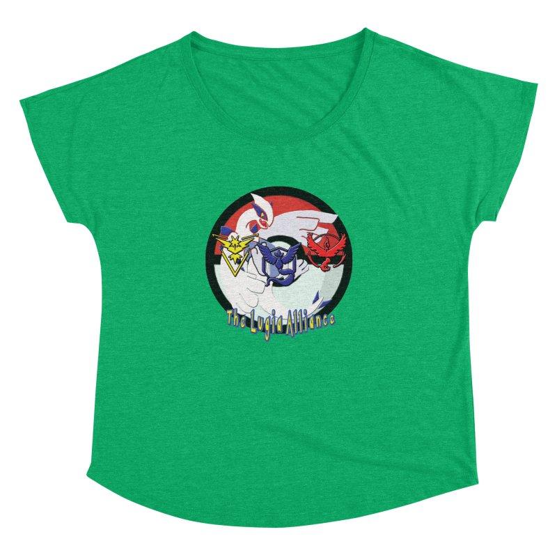 Pokemon Go - The Lugia Alliance Women's Dolman Scoop Neck by TygerwolfeDesigns's Artist Shop