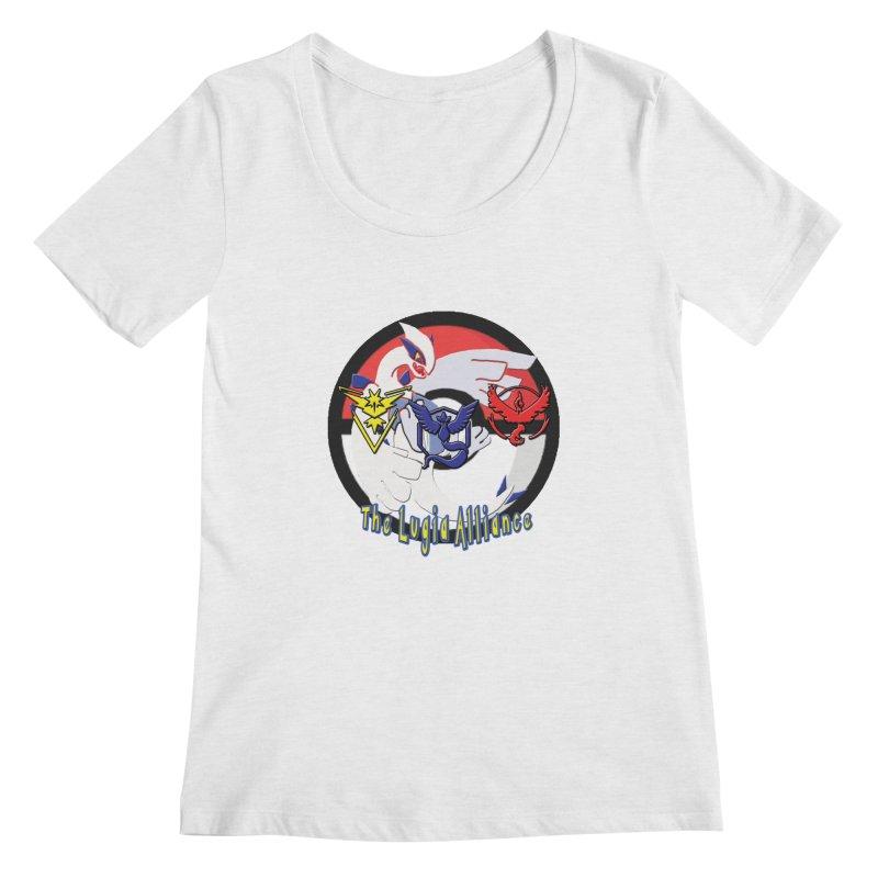Pokemon Go - The Lugia Alliance Women's Regular Scoop Neck by TygerwolfeDesigns's Artist Shop