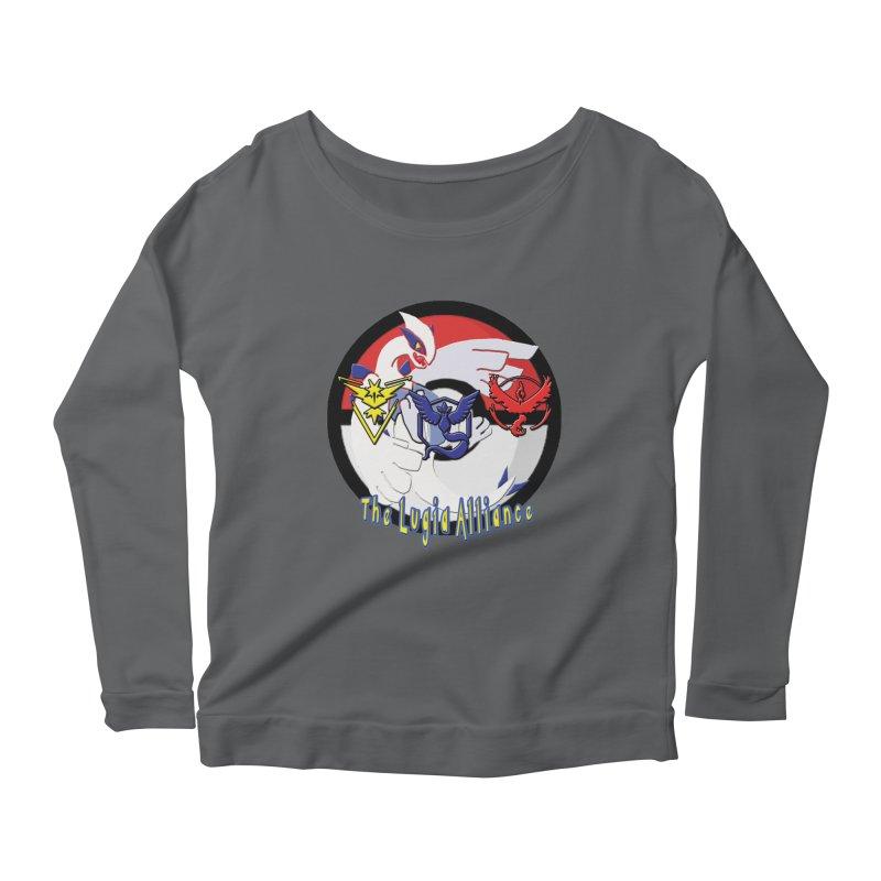 Pokemon Go - The Lugia Alliance Women's Scoop Neck Longsleeve T-Shirt by TygerwolfeDesigns's Artist Shop