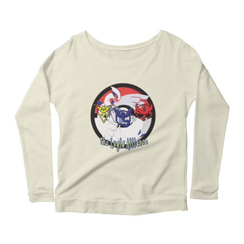 Pokemon Go - The Lugia Alliance Women's Longsleeve Scoopneck  by TygerwolfeDesigns's Artist Shop