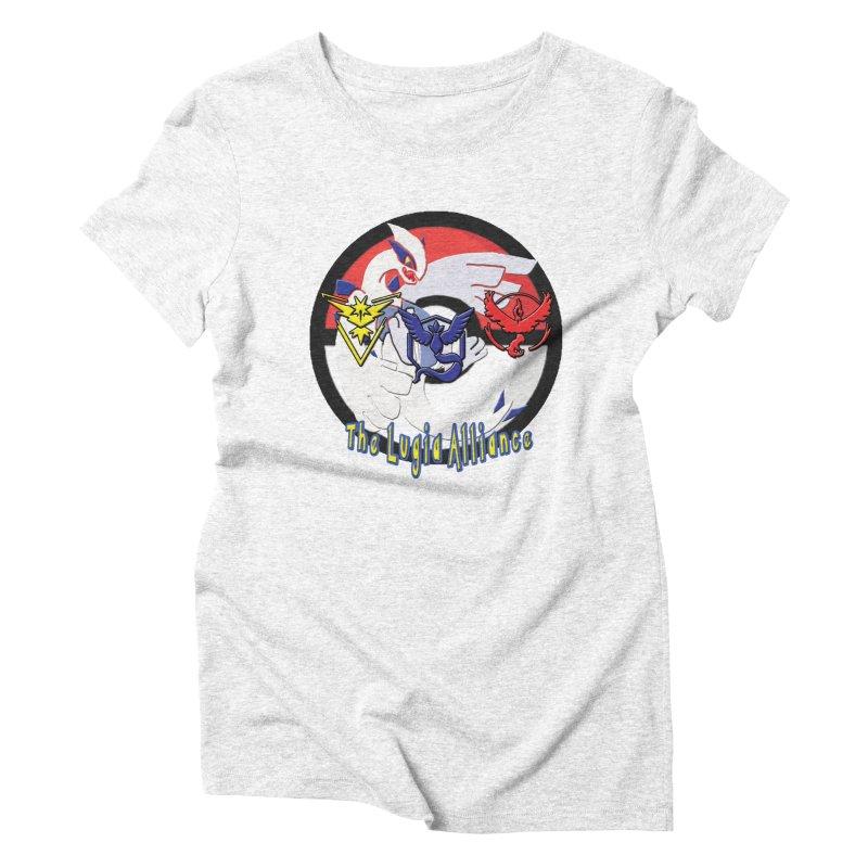 Pokemon Go - The Lugia Alliance Women's Triblend T-shirt by TygerwolfeDesigns's Artist Shop