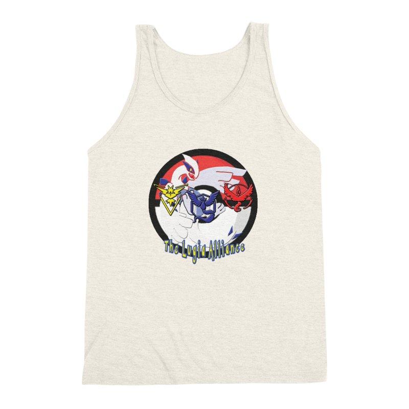 Pokemon Go - The Lugia Alliance Men's Triblend Tank by TygerwolfeDesigns's Artist Shop