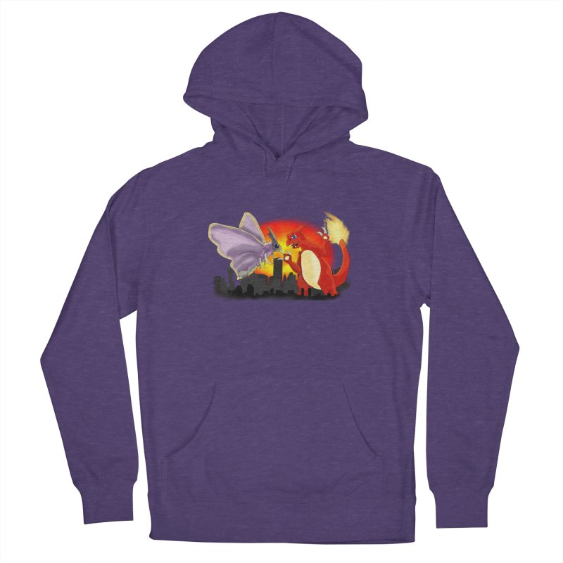 Venomothra Vs. Charzilla Men's French Terry Pullover Hoody by TygerwolfeDesigns's Artist Shop