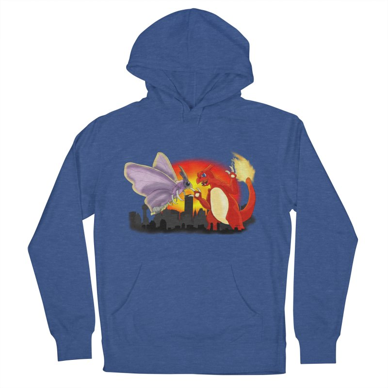 Venomothra Vs. Charzilla Women's French Terry Pullover Hoody by TygerwolfeDesigns's Artist Shop