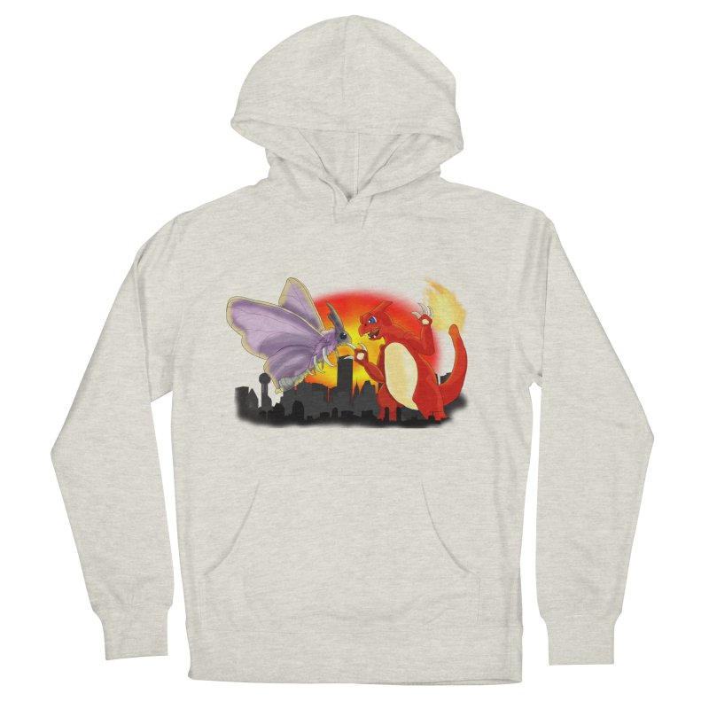 Venomothra Vs. Charzilla Women's Pullover Hoody by TygerwolfeDesigns's Artist Shop