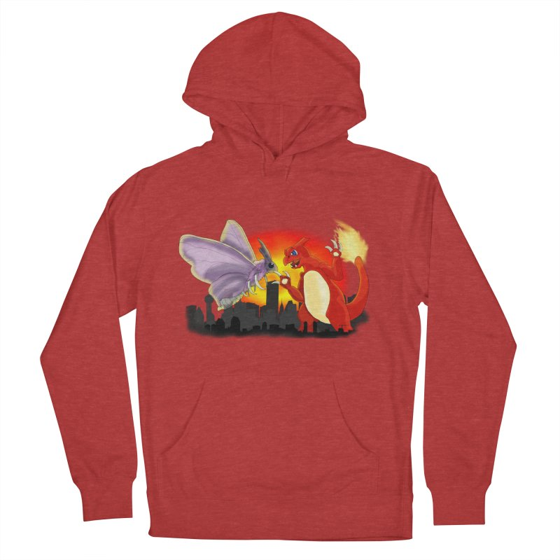 Venomothra Vs. Charzilla Men's Pullover Hoody by TygerwolfeDesigns's Artist Shop
