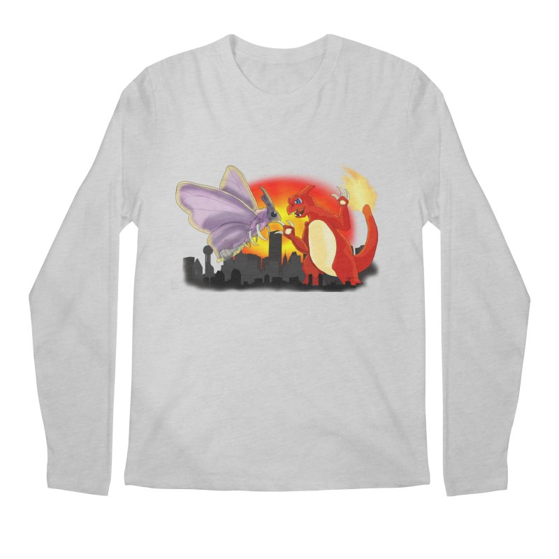 Venomothra Vs. Charzilla Men's Longsleeve T-Shirt by TygerwolfeDesigns's Artist Shop
