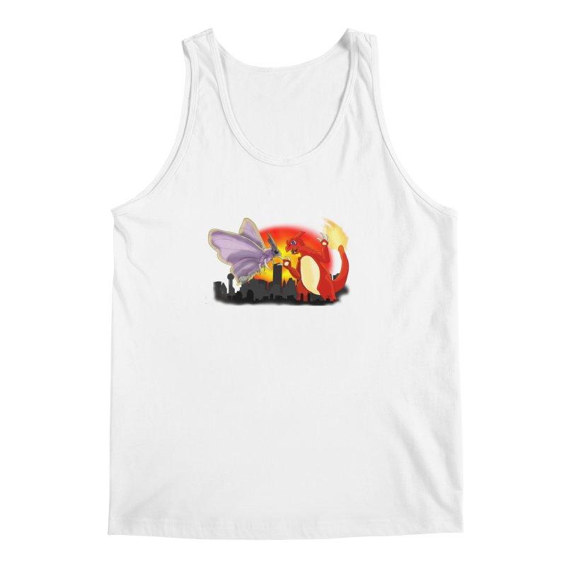 Venomothra Vs. Charzilla Men's Regular Tank by TygerwolfeDesigns's Artist Shop