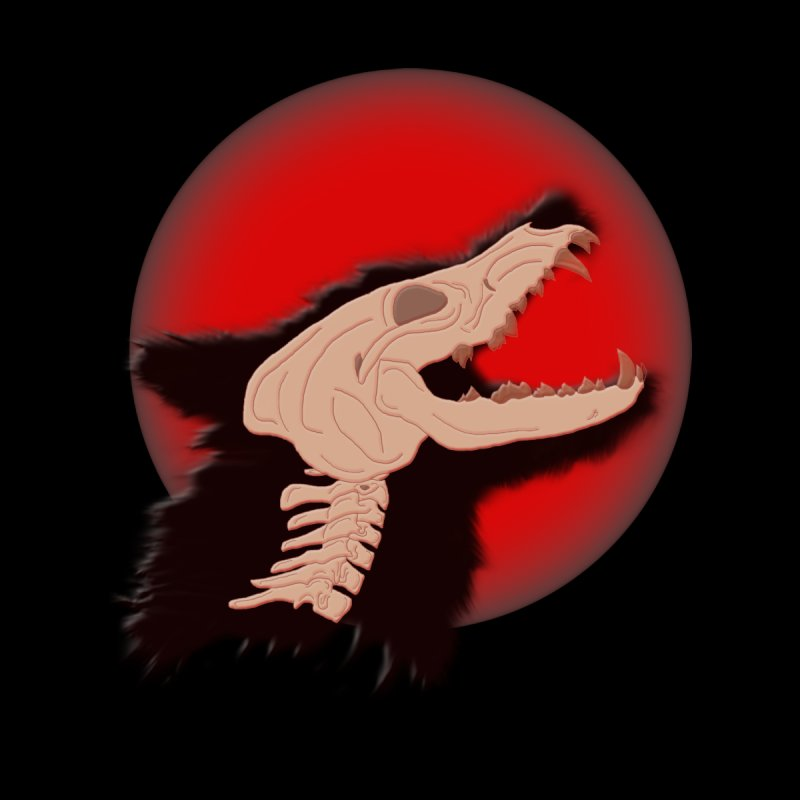 Blood Moon Werewolf by TygerwolfeDesigns's Artist Shop